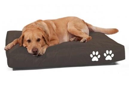 Kutya babzsák fekhely XL (sötétbarna)