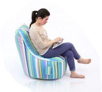 L Fotel (KékCsíkos)