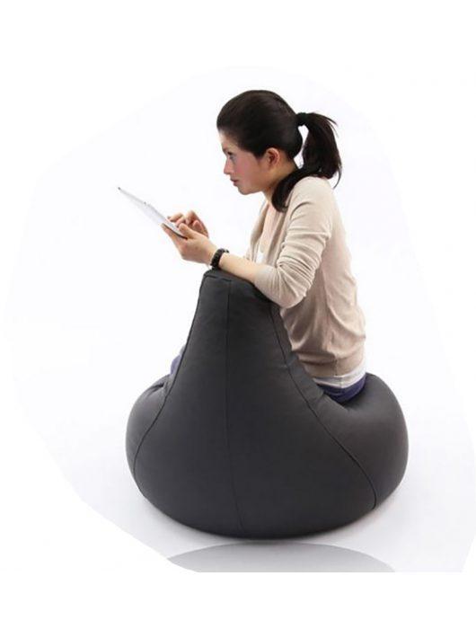 L babzsák fotel (fekete)