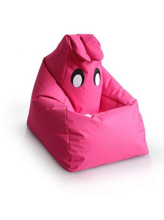 BUNNY a barátod gyermek babzsákfotel (Pink)